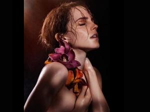 Emma Watson Topless Photoshoot