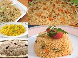 Rare Rice Pulao Recipes