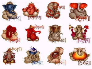 Different Lord Ganesha Names