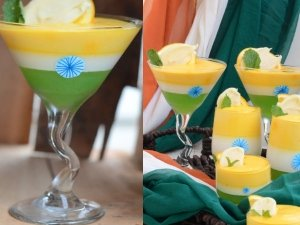 Tricolour Parfait For Independence Day