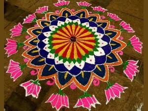 Rangoli Designs Diwali Decorations