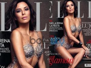 Eva Longoria Elle Magazine