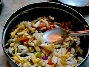 Easy Homemade Bhel Puri Recipe With Video