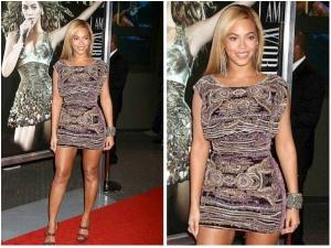 Beyonce In Naeem Khan Short Dress