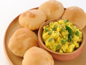 Healthy Matar Puri Recipe