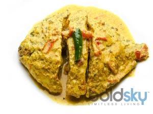 Pomfret Fish In Mustard Sauce Recipe