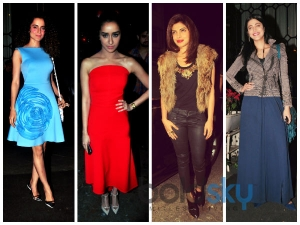 Celebs Glam Up For Sanjay Leela's Party