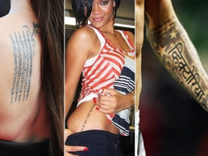11 Hollywood Celebs With Indian Tattoos