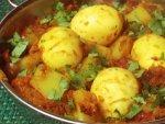 Yummy Egg And Potato Curry Recipe