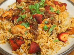 Chilli Chicken Fried Rice Recipe