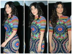 Shruti Hassan: Funky In Neha Agarwal