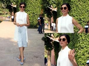 Deepika Looks Gorgeous In Semi Formal