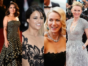 Cannes Film Festival Gorgeous Backless Gowns