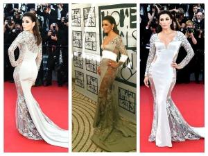 Cannes 2015 Eva Longoria In Gabriela Cadena