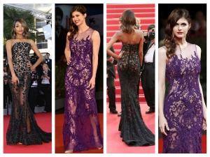 Cannes 2015: Extreme Lace Mermaid Gowns