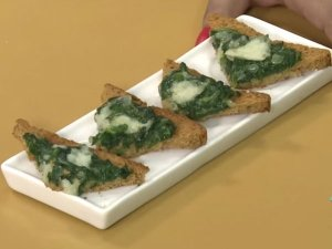 Ramazan Special Spinach And Cheese Toast