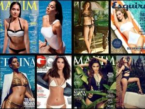 World Bikini Day: Celebs Magazine Covers