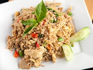 Tasty Fish Fried Rice Recipe