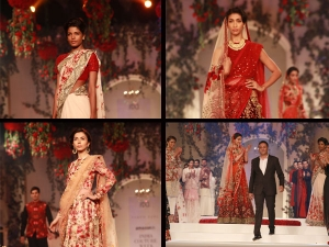AICW 2015: Varun Bahl's Bridal Wear