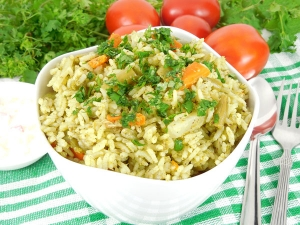 Must Try Yummy Coriander Rice Bath