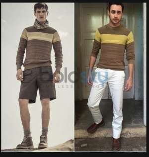 Imran Khan's Cool Belstaff Sweater
