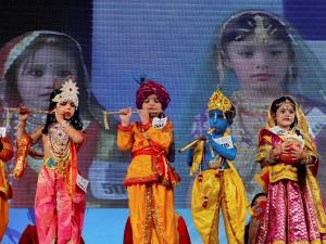 Dress Up Your Kid Like Krishna