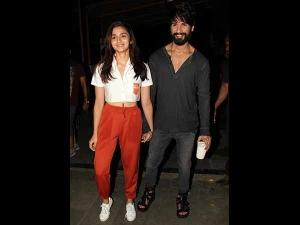 Shahid And Alia Look Adorable
