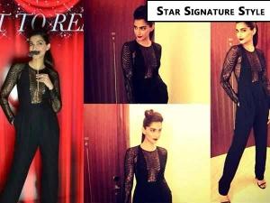 Sonam Kapoor Star Signature Style Jumpsuits