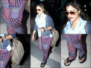 Travel Looks Casual Style Kajol While She Returned From Dilwale Shoot