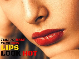 Hot Makeup Tips For Thin Lips