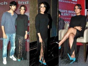 Richa Chaddha's Magical Black Look