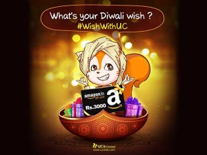 Wishes For Diwali: A UC web Analysis