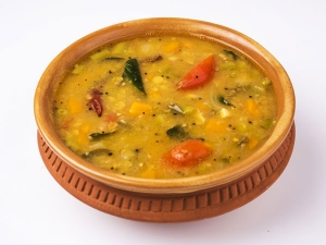 Easy Tasty Potato Onion Sambar Recipe