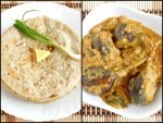 Special Jowar Roti And Brinjal Curry Recipe