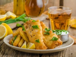 Crunchy Yummy Fish And Chips Recipe