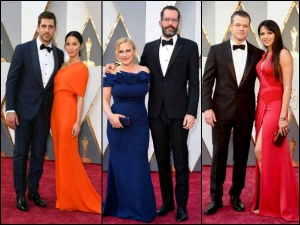 Couples On The Red Carpet At The 2016 Oscars