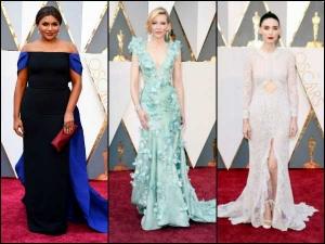 Oscars Red Carpet Women Fashion Levels Up