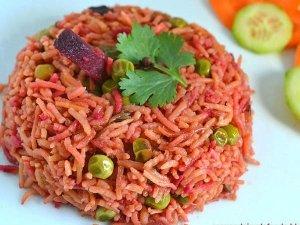 Healthy Beetroot Rice Recipe