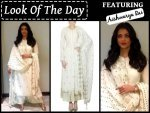 Look Of The Day Aishwarya Rai Bachchan Sarbjit Promotions In White