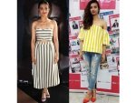 Radhika Apte Phobia Promotions Wearing Striped Outfits Check It Out