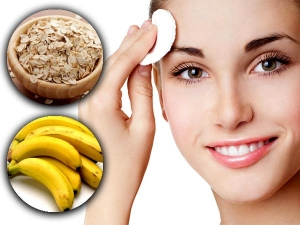 Diy Banana And Oatmeal Face Scrub For Sensitive Skin
