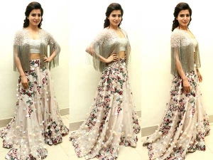 Samantha Ruth Prabhu A Aa Audio Launch Shriya Som Outfit