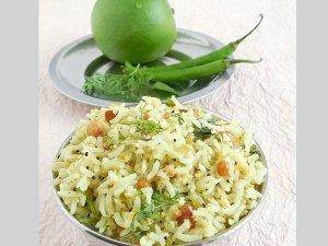 The Tastiest Raw Mango Rice Recipe
