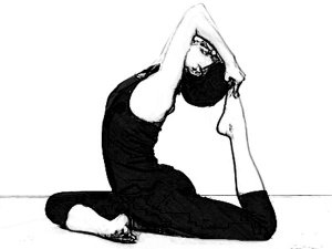 Eka Pada Rajakapotasana To Improve Flexibility Of Hip Muscles