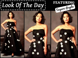 Look Of The Day Sayani Gupta For Being The Hottie She Is