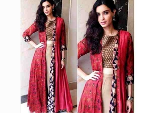 Diana Penty For Happy Bhaag Jayegi Promotions In Anushree