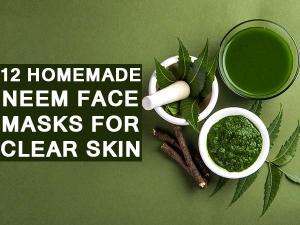 Twelve Homemade Neem Face Masks For Clear Skin