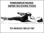 Pawanmuktasana Wind Relieving Pose To Reduce Belly Fat