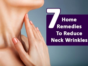 Seven Home Remedies To Reduce Neck Wrinkles