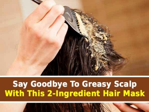 Say Goodbye To Greasy Scalp With This Two Ingredient Hair Mask
